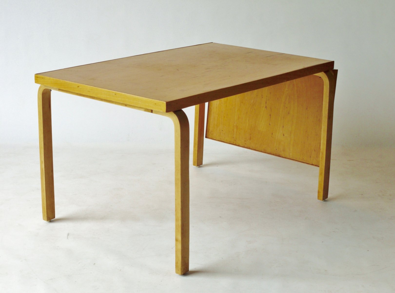 Drop Leaf Extendable Dining Table By Alvar Aalto For Artek, 1940s