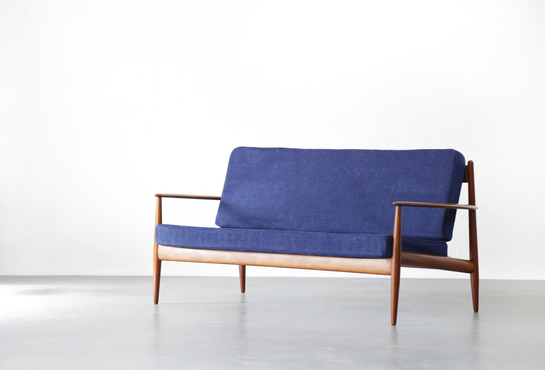 Danish Teak Sofa By Grete Jalk For France Søn