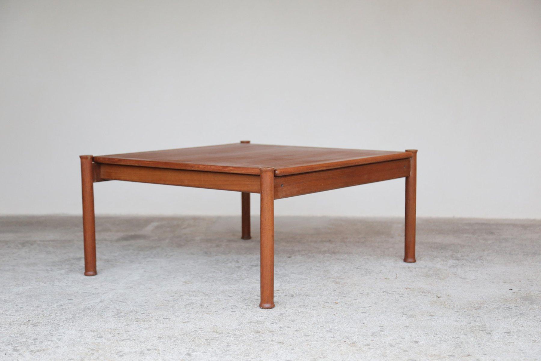 table basse vintage scandinave en teck en vente sur pamono. Black Bedroom Furniture Sets. Home Design Ideas