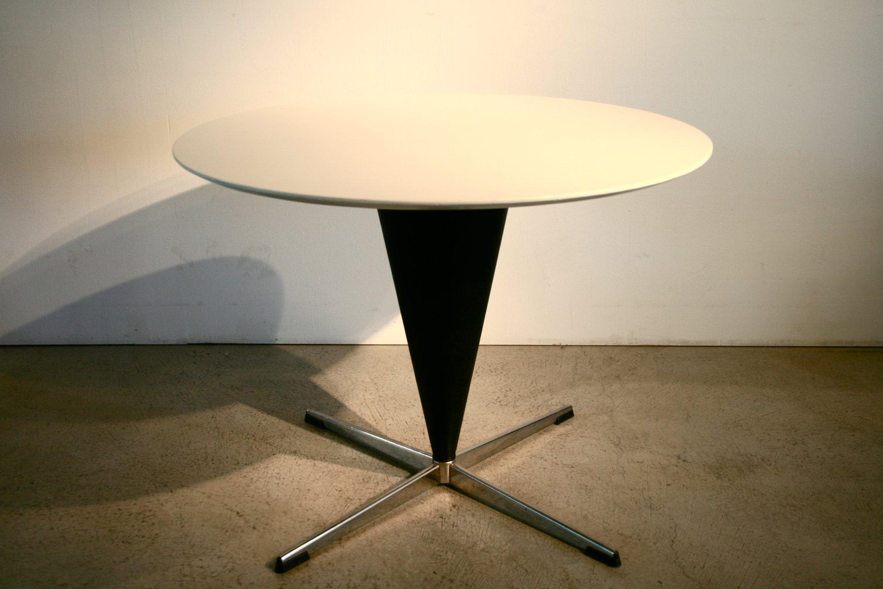 Mid-Century Kegel Tisch von Verner Panton für Gebrüder Nehl, 1958