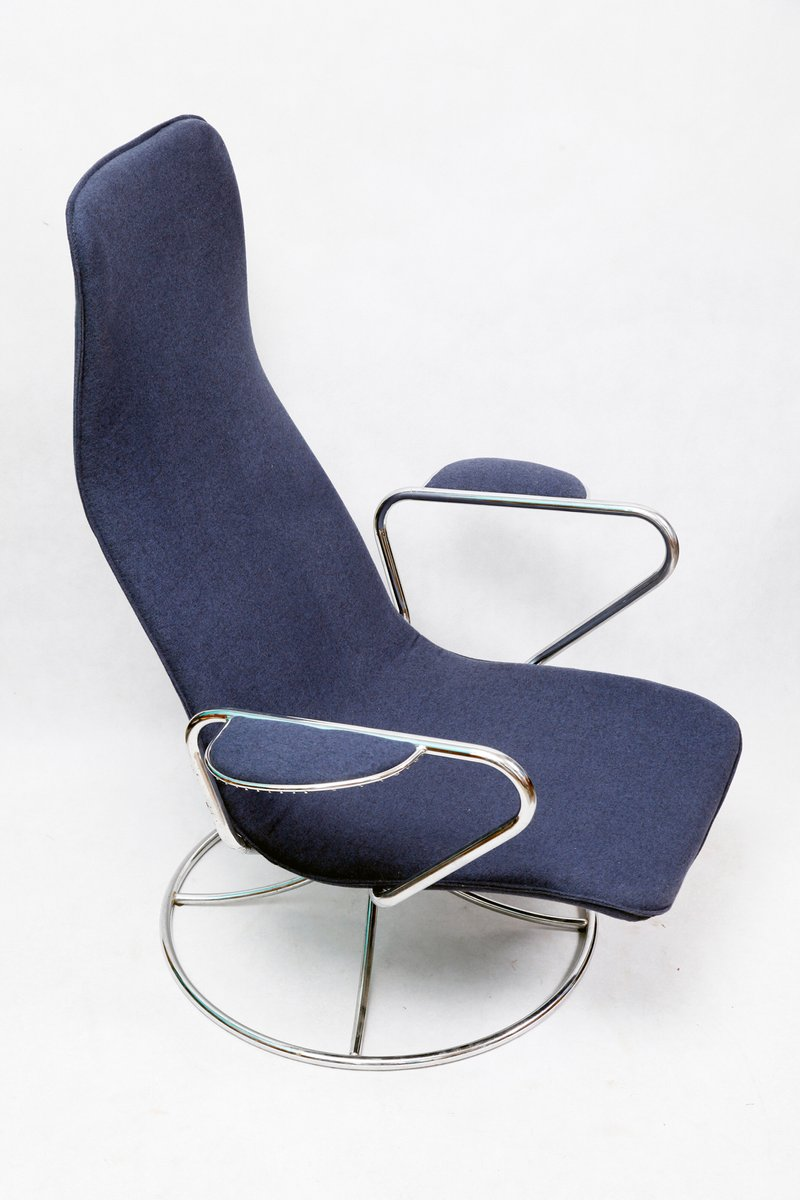 Vintage swedish swivel chair from ikea 1980s for sale at for Ikea ship to new zealand