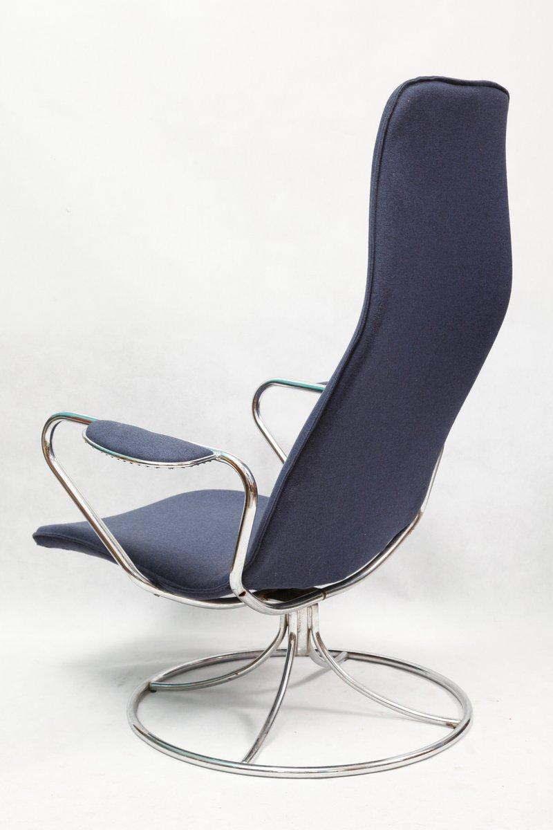 chaise pivotante vintage d 39 ikea su de 1980s en vente sur pamono. Black Bedroom Furniture Sets. Home Design Ideas