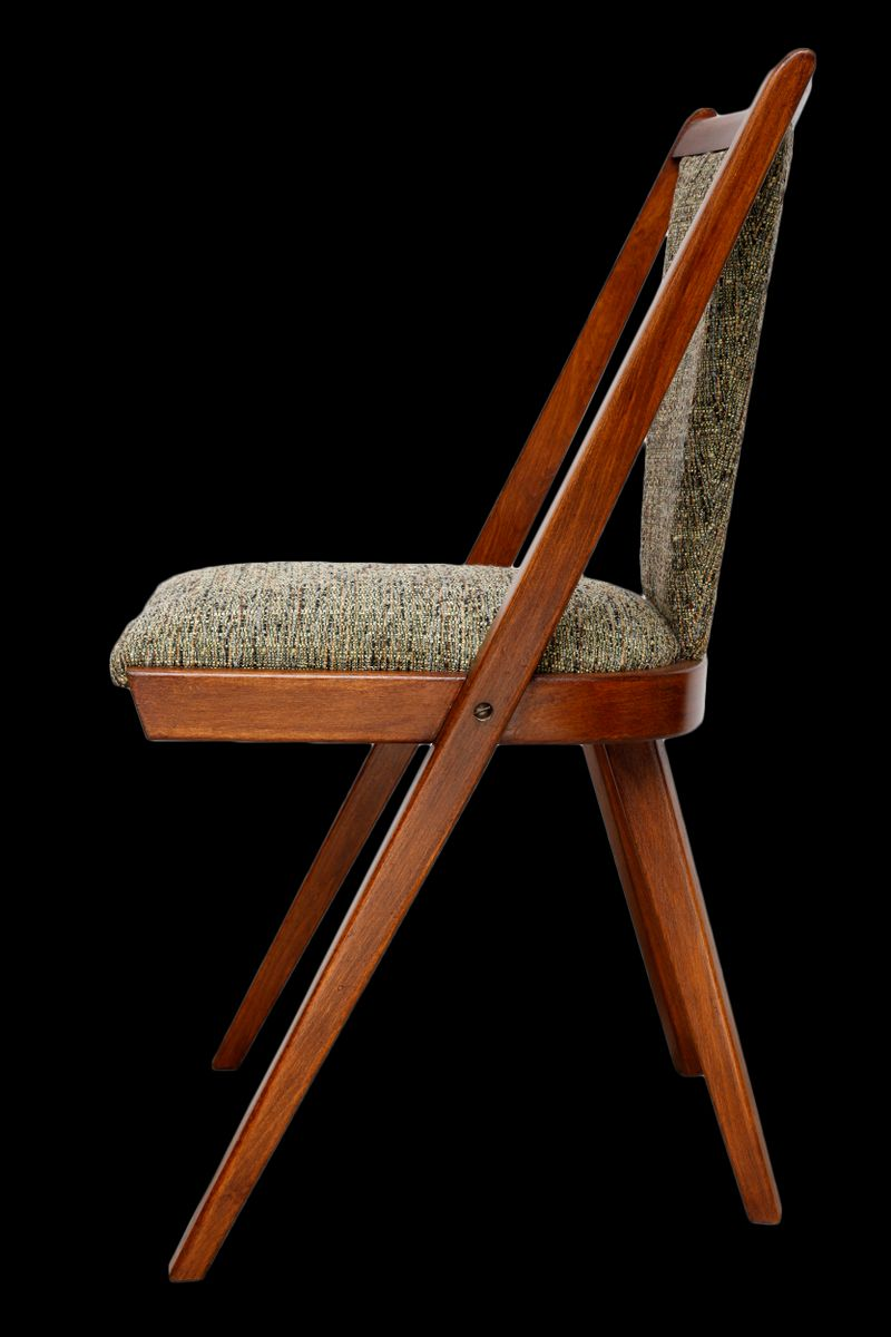 chaise d 39 appoint verte vintage 1960s en vente sur pamono. Black Bedroom Furniture Sets. Home Design Ideas