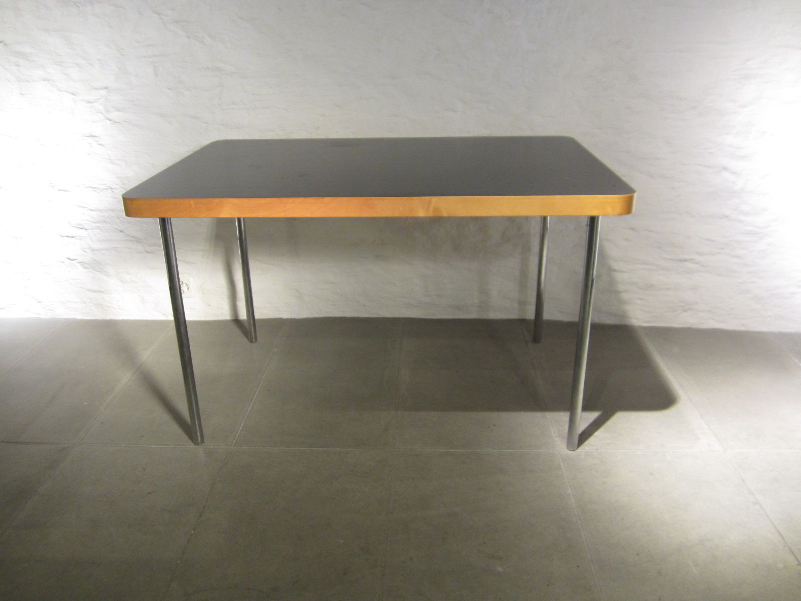Small Vintage Dining Table By Marcel Breuer For Embru Wohnbedarf 1940s