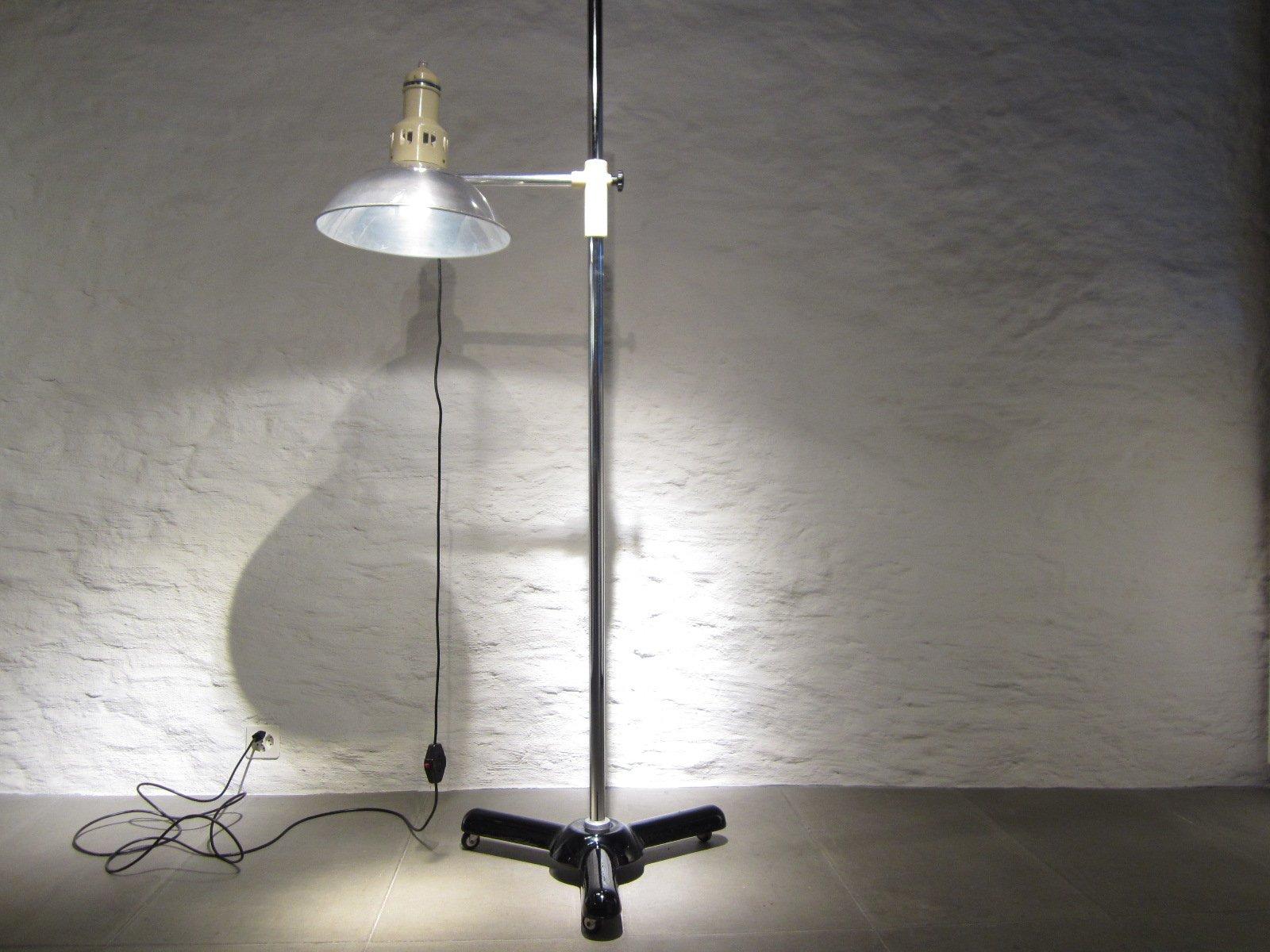 Große Ehemalige Vintage Arzt Stehlampe von Calorex
