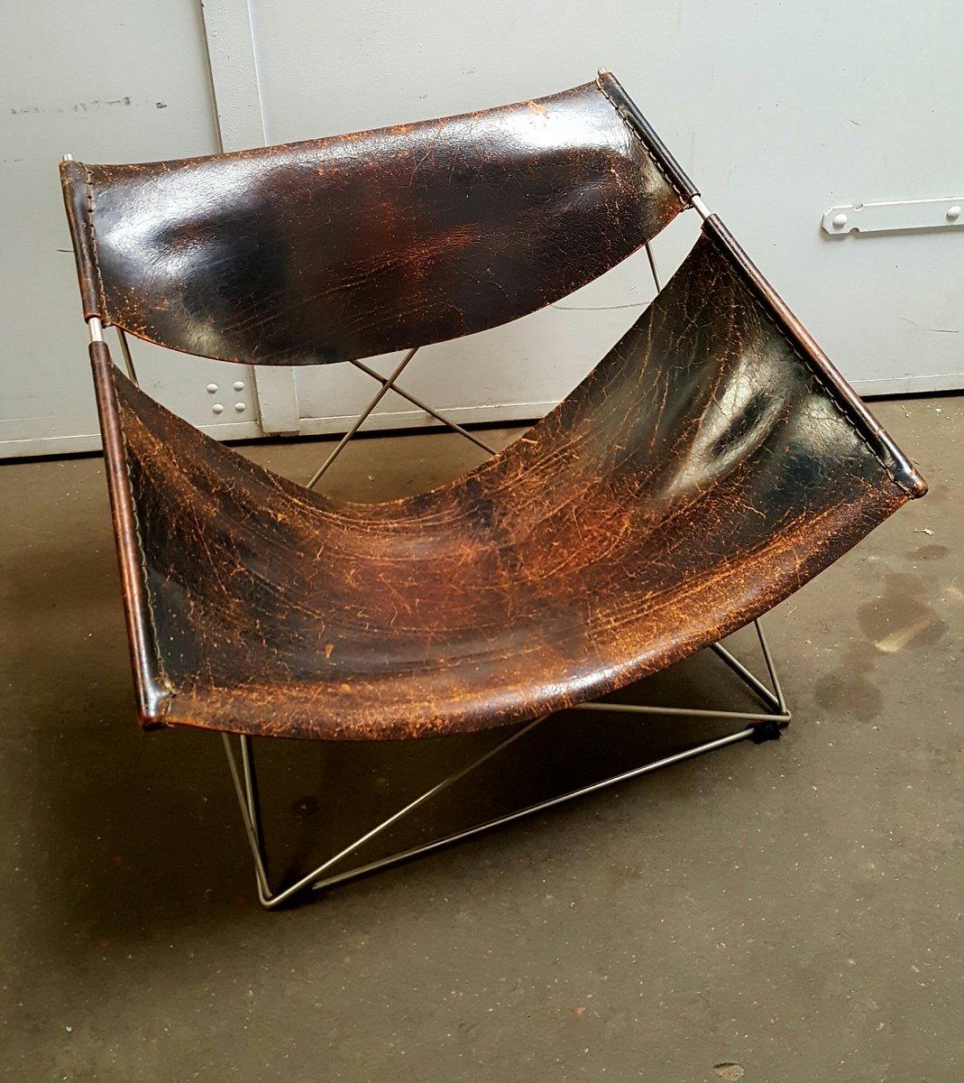 F675 Butterfly Chair Stuhl von Pierre Paulin für Artifort, 1960er