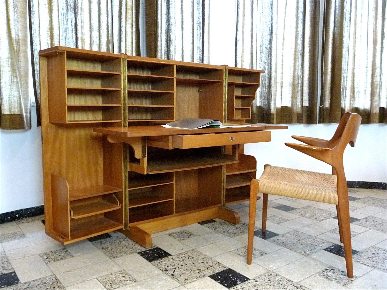 Mueble escritorio plegable de mummenthaler meier a os 50 en venta en pamono - Mueble anos 50 ...