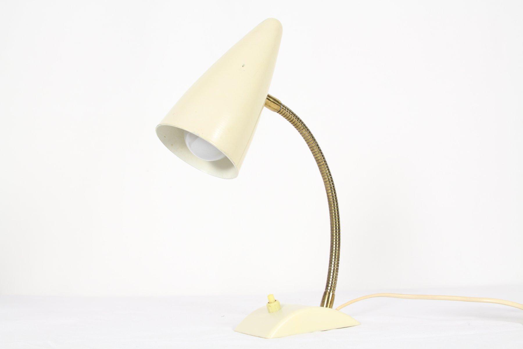 industrielle tischlampe mit konischem schirm 1960er bei pamono kaufen. Black Bedroom Furniture Sets. Home Design Ideas