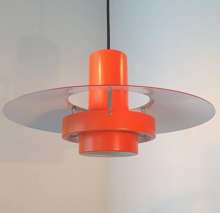 Dänische Falcon Deckenlampe von Andreas Hansen für Fog & Mørup