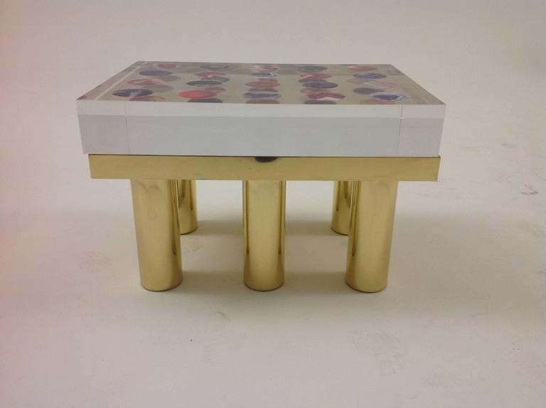 table basse horizonte par studio superego pour poliedrica en vente sur pamono. Black Bedroom Furniture Sets. Home Design Ideas