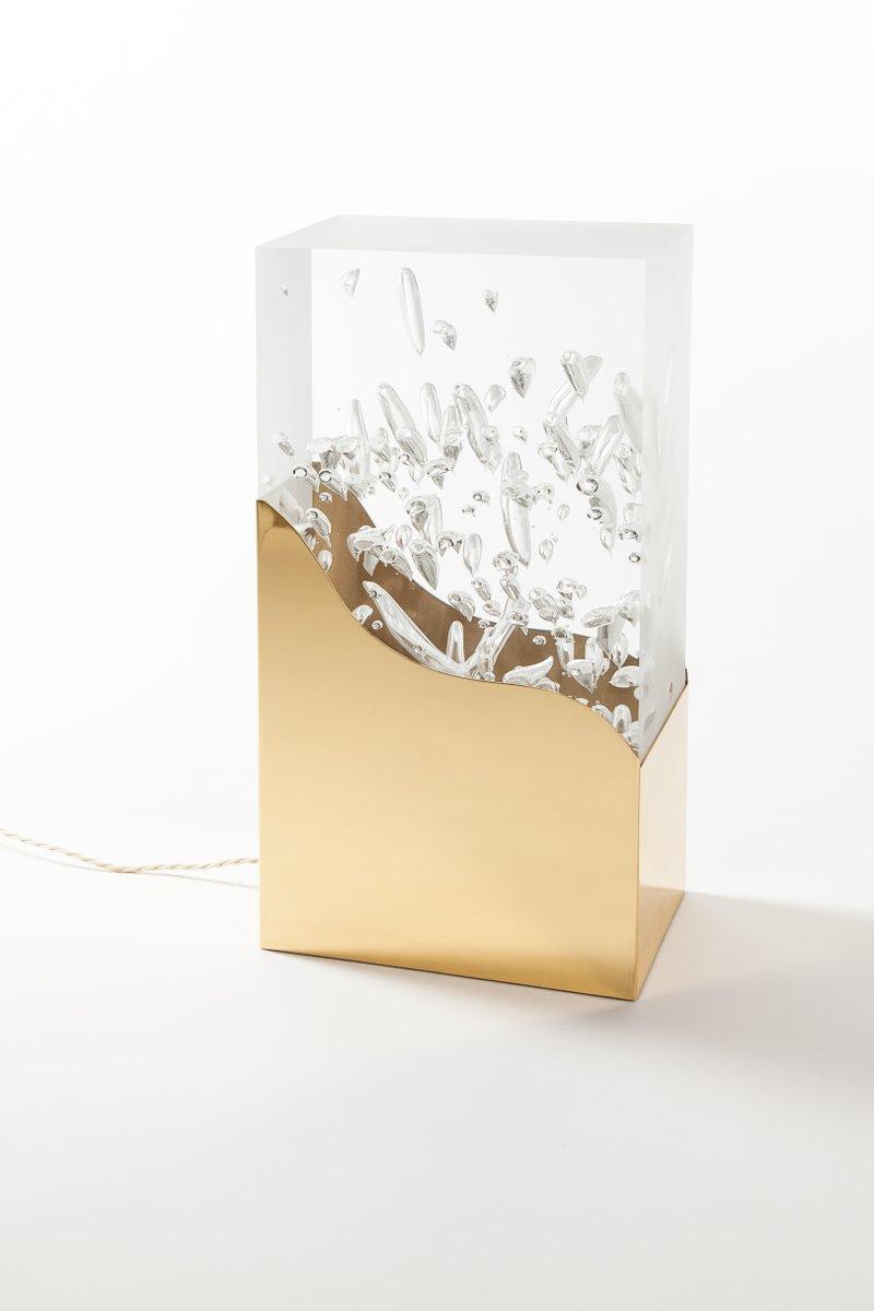 Bubbles Tischlampe von Studio Superego für Poliedrica