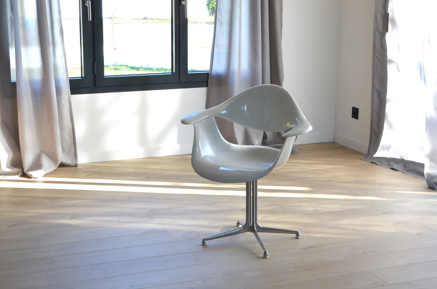 Daf chair by george nelson for herman miller 1950s