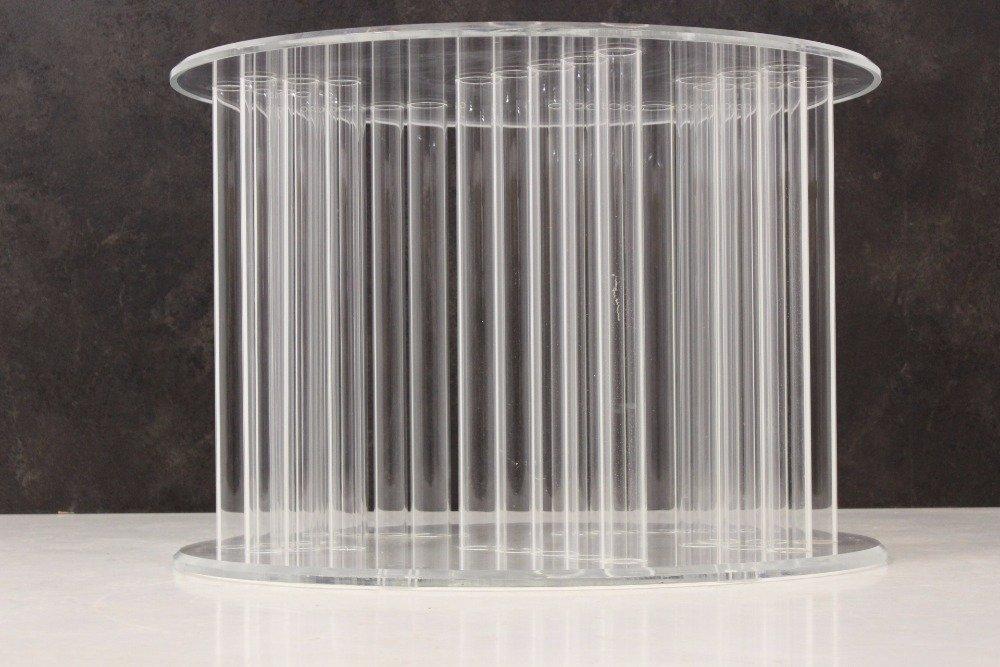 Großer Vintage Plexiglas Tisch 1970er Bei Pamono Kaufen