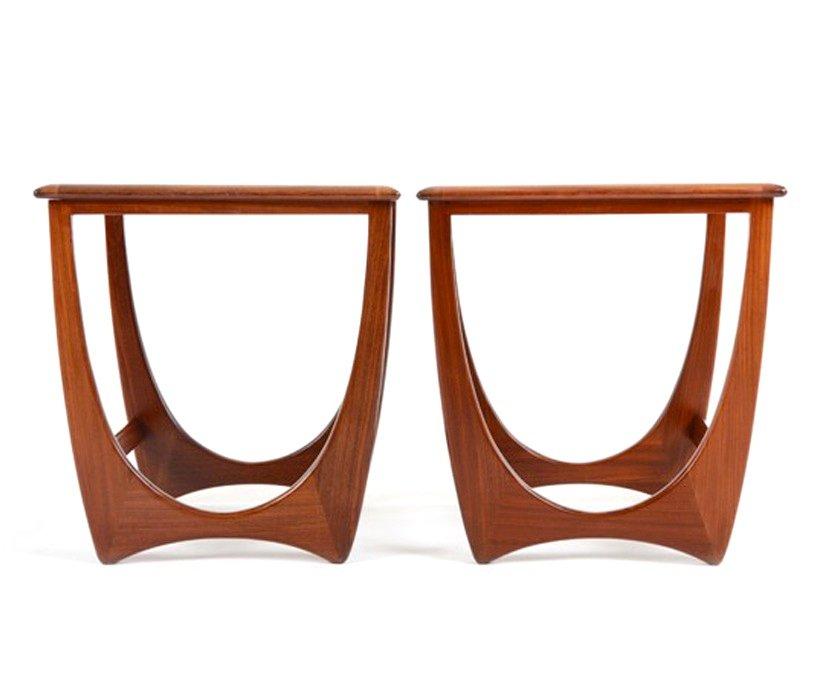 mid century teak und mahagoni satztische von g plan 1960er bei pamono kaufen. Black Bedroom Furniture Sets. Home Design Ideas
