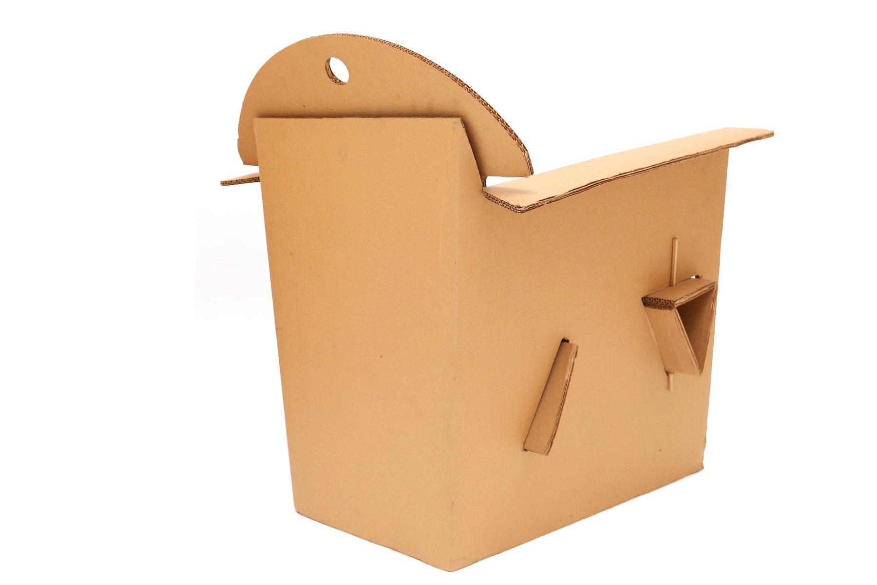 fauteuils t 4 1 en carton par olivier leblois pour quart de poil 1993 set de 2 en vente sur pamono. Black Bedroom Furniture Sets. Home Design Ideas