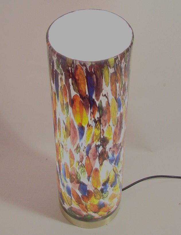 italienische bunte glas lampe 1980er bei pamono kaufen. Black Bedroom Furniture Sets. Home Design Ideas
