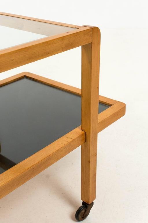 art deco haagse schul servierwagen 1930er bei pamono kaufen. Black Bedroom Furniture Sets. Home Design Ideas