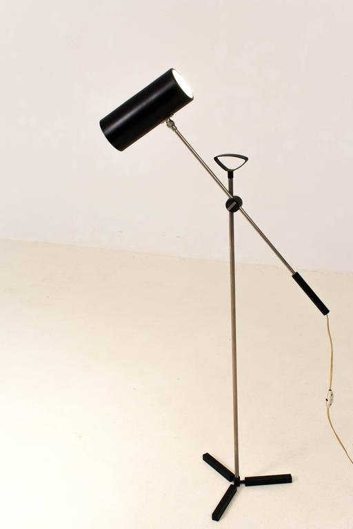 Mid century modern floor lamp by j j m hoogervorst for anvia mid century modern floor lamp by j j m hoogervorst for anvia 1960s aloadofball Gallery