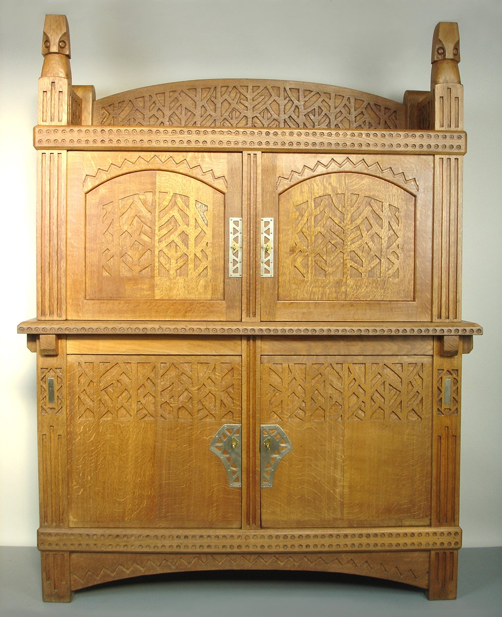 Antique Arts u0026 Crafts Cabinet & Antique Arts u0026 Crafts Cabinet for sale at Pamono