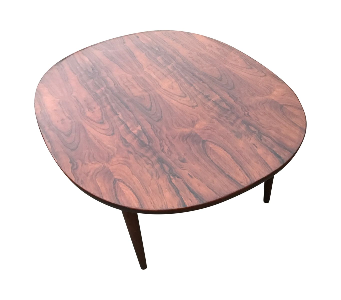 Vintage Oval Coffee Tables: Vintage Oval Rosewood Coffee Table For Sale At Pamono