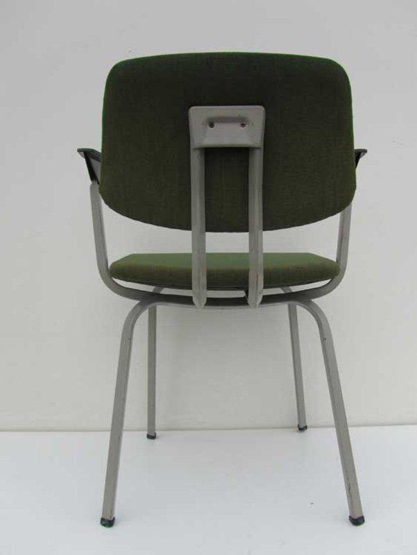 Industrial Armchair By Friso Kramer For Ahrend De Cirkel, 1974