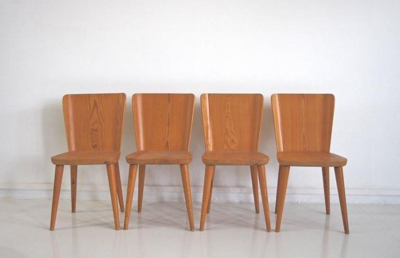 esstisch mit vier st hlen von g ran malmvall f r karl andersson s ner 1940er bei pamono kaufen. Black Bedroom Furniture Sets. Home Design Ideas