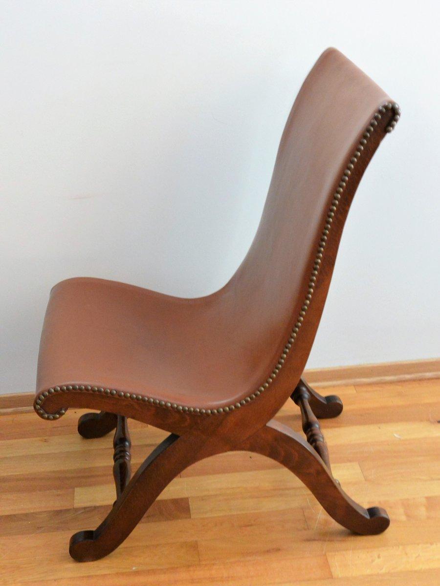 Vintage Slipper Stühle von Pierre Lottier für Valenti, 2er Set