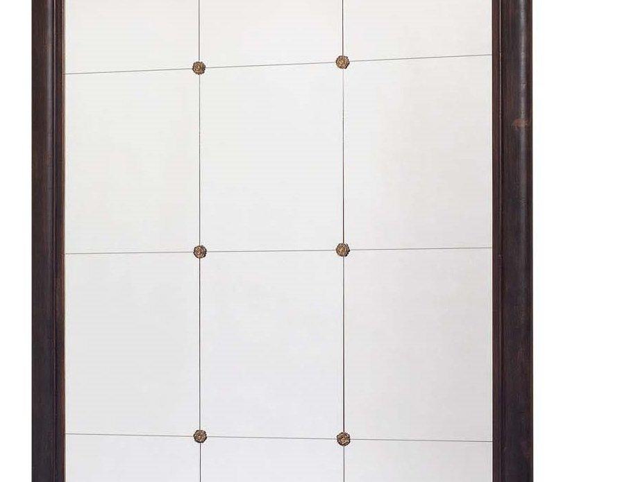 gro er franz sischer vintage spiegel mit 12 quadranten bei pamono kaufen. Black Bedroom Furniture Sets. Home Design Ideas