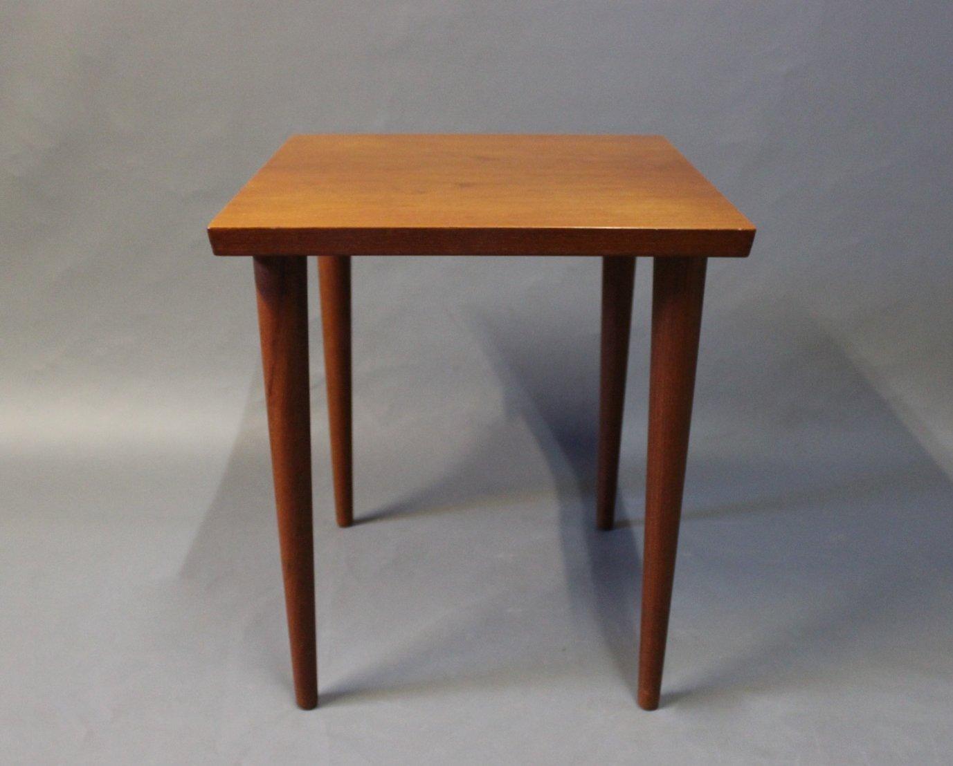 Small Side Table In Teak By Finn Juhl And France Søn 1960s