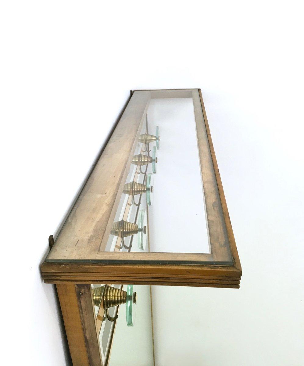 Attaccapanni vintage illuminato con specchio italia in - Attaccapanni con specchio ...