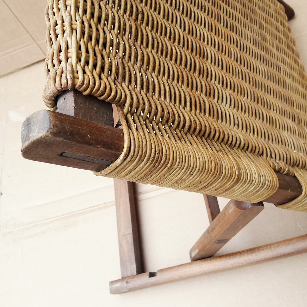 Beach Folding Chair Back Rest 1900s For Sale At Pamono