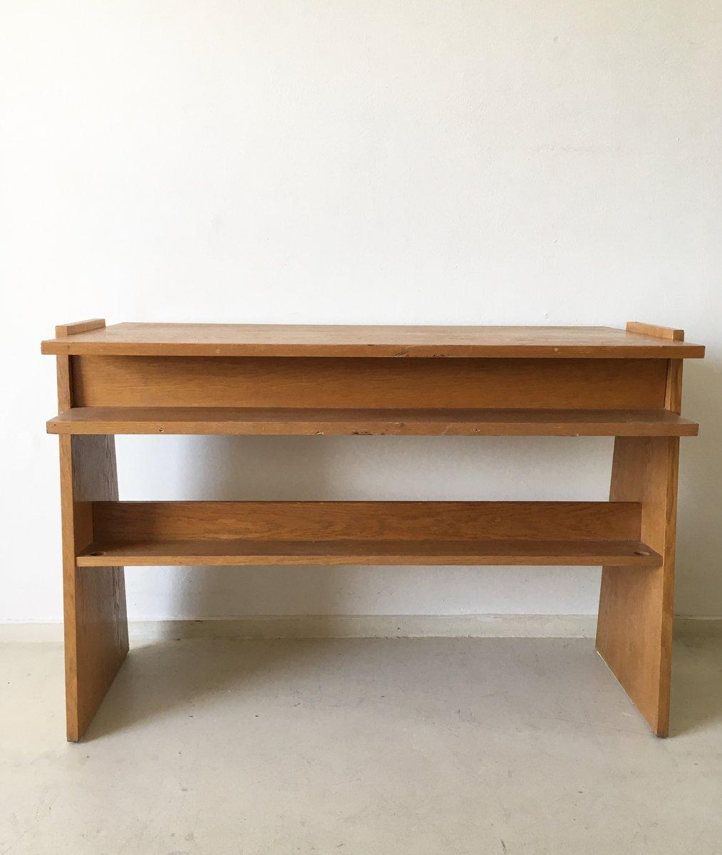 petit bureau vintage constructiviste de ernst merkel en vente sur pamono. Black Bedroom Furniture Sets. Home Design Ideas