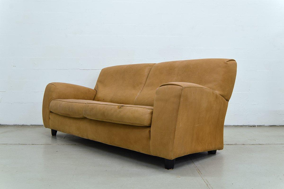Vintage Italian Leather Sofa From Molinari 10 798 00