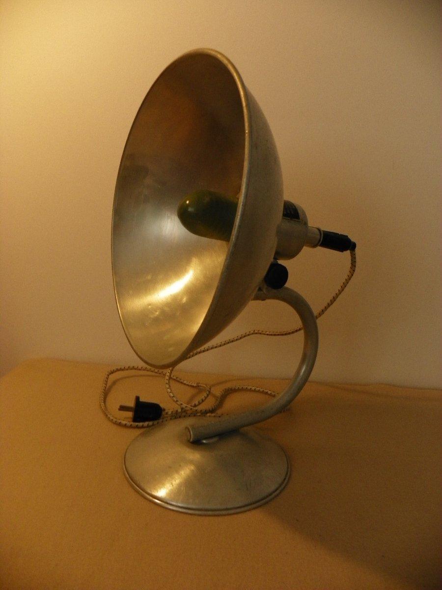 Mid-Century Industrie Tischlampe, 1950er