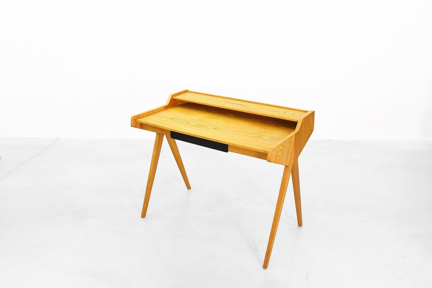 mid century schreibtisch von helmut magg f r wk m bel bei pamono kaufen. Black Bedroom Furniture Sets. Home Design Ideas