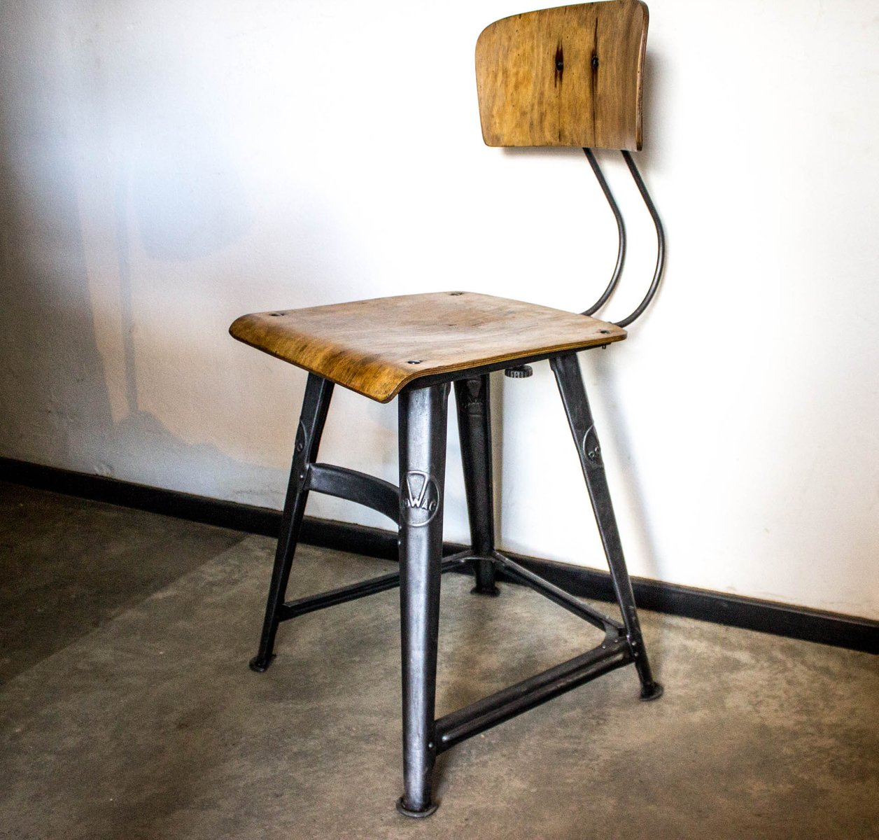 Vintage Desk Chair from Rowac - Vintage Desk Chair From Rowac For Sale At Pamono