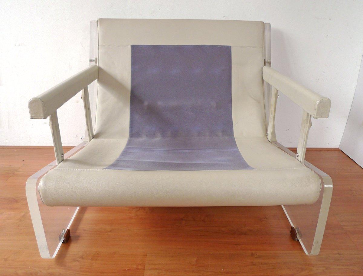 fauteuil en plexiglas 1960s en vente sur pamono. Black Bedroom Furniture Sets. Home Design Ideas