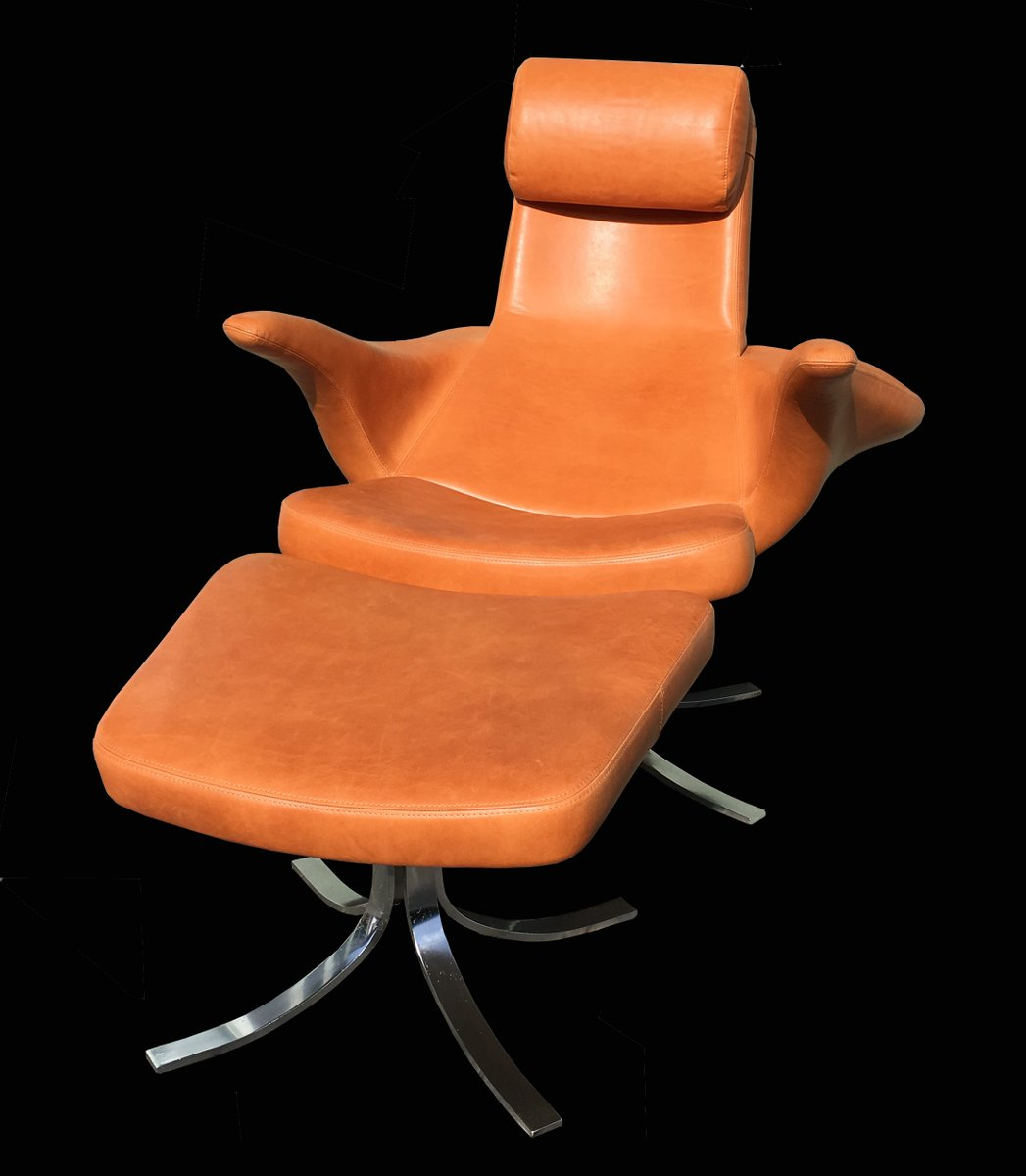 Vintage Seagull Chair And Ottoman By Gosta Amp Eriksson For