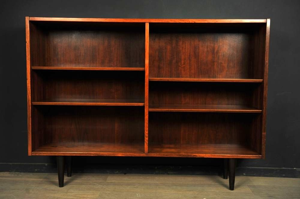Palisander Bücherregal von Carlo Jensen für Poul Hundevad, 1960 | Wohnzimmer > Regale > Bücherregale | Braun | Hundevad & Co.
