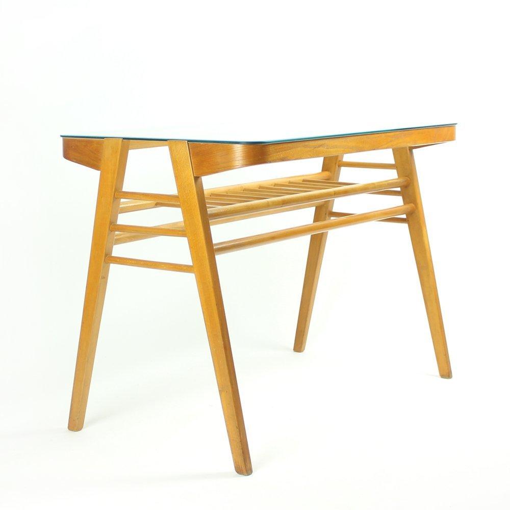 tschechischer tisch mit glasplatte 1960er bei pamono kaufen. Black Bedroom Furniture Sets. Home Design Ideas