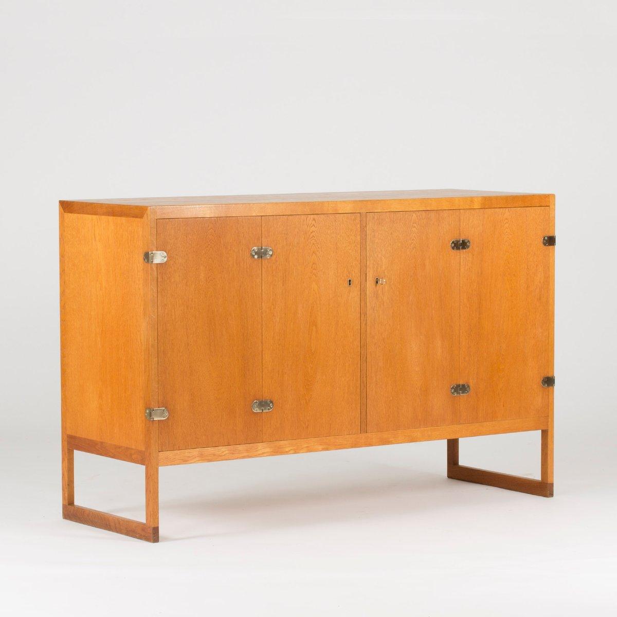 BM 57 Teak Sideboard von Børge Mogensen für P. Lauritsen & Søn, 1960er