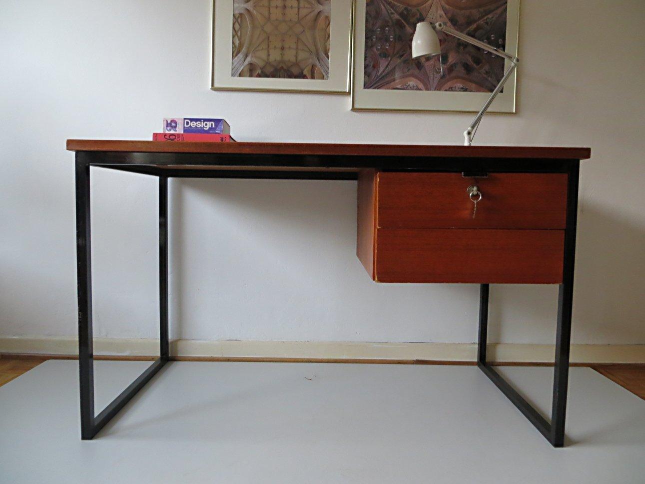 Scandinavian Minimalist Desk 1960s