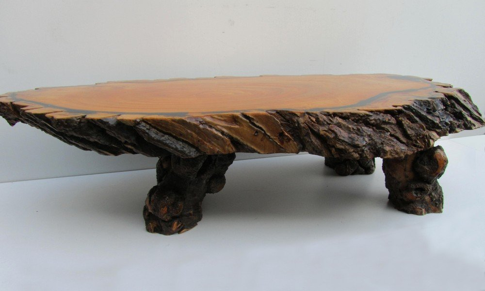 Large Tree Trunk Coffee Table 1960s For Sale At Pamono