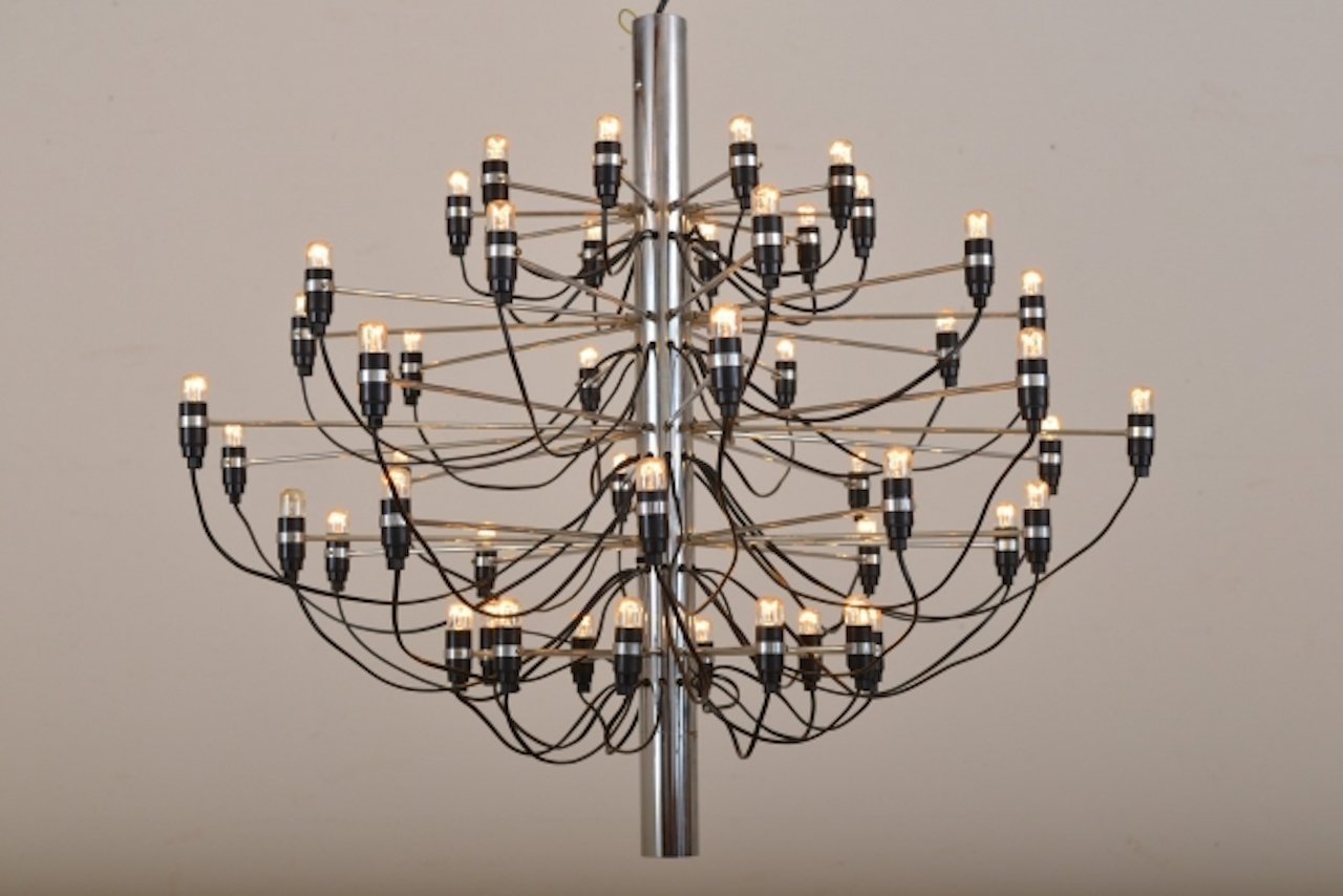 Vintage model 2097 chandelier by gino sarfatti for flos for sale at vintage model 2097 chandelier by gino sarfatti for flos aloadofball