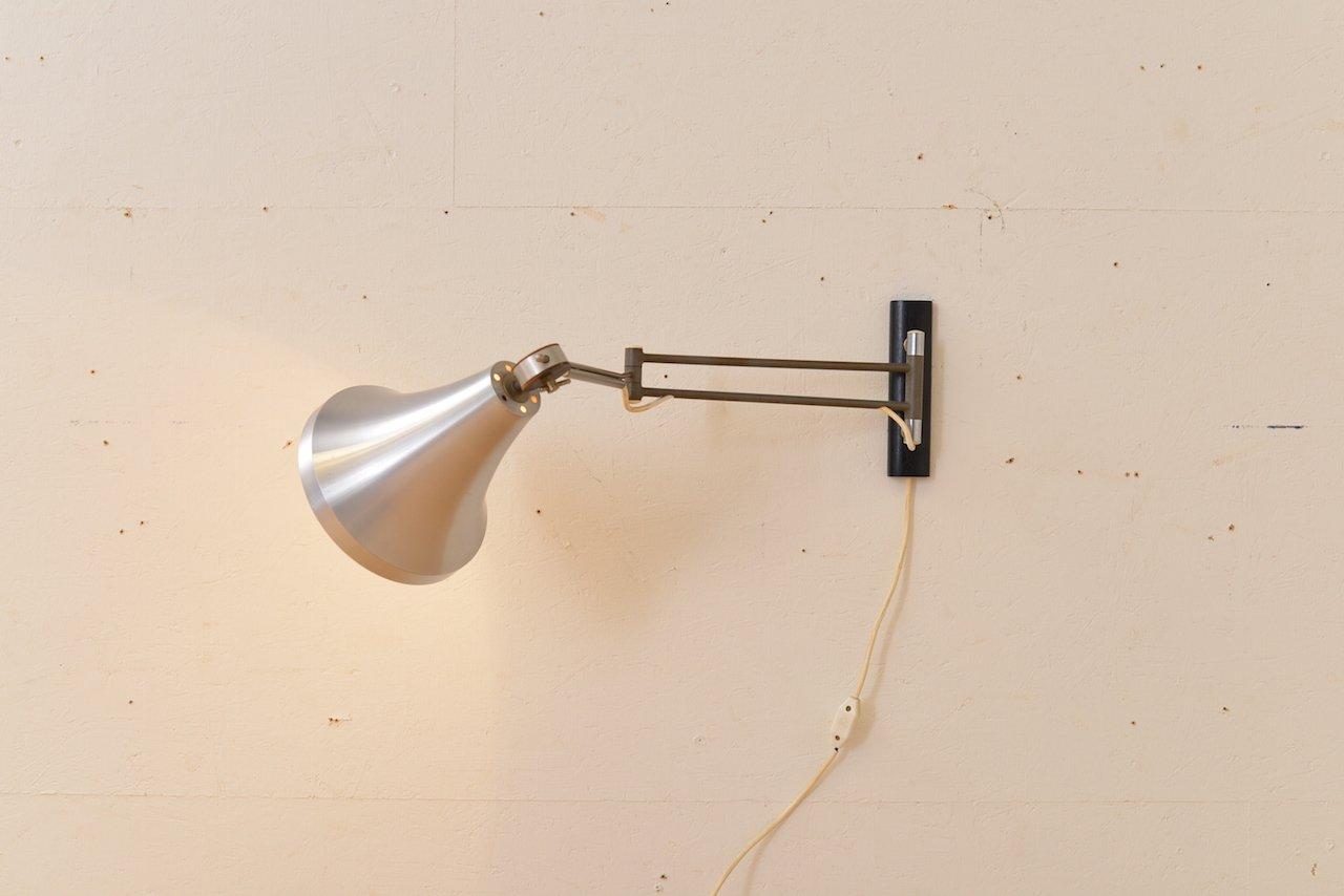 Vintage Wandarmlampe von Philips