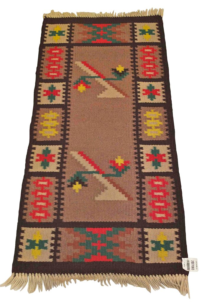tapis vintage kilim 1960s en vente sur pamono. Black Bedroom Furniture Sets. Home Design Ideas