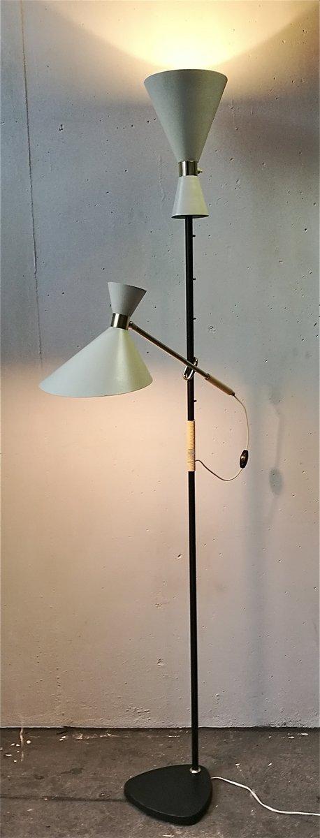 Pelikan Stehlampe von J.T. Kalmar, 1950er