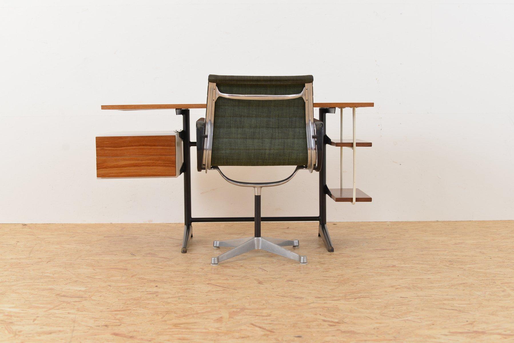 industrieller mid century schreibtisch von marko bei pamono kaufen. Black Bedroom Furniture Sets. Home Design Ideas
