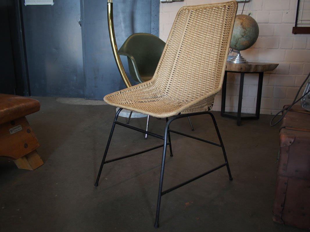 chaise vintage en rotin en vente sur pamono. Black Bedroom Furniture Sets. Home Design Ideas