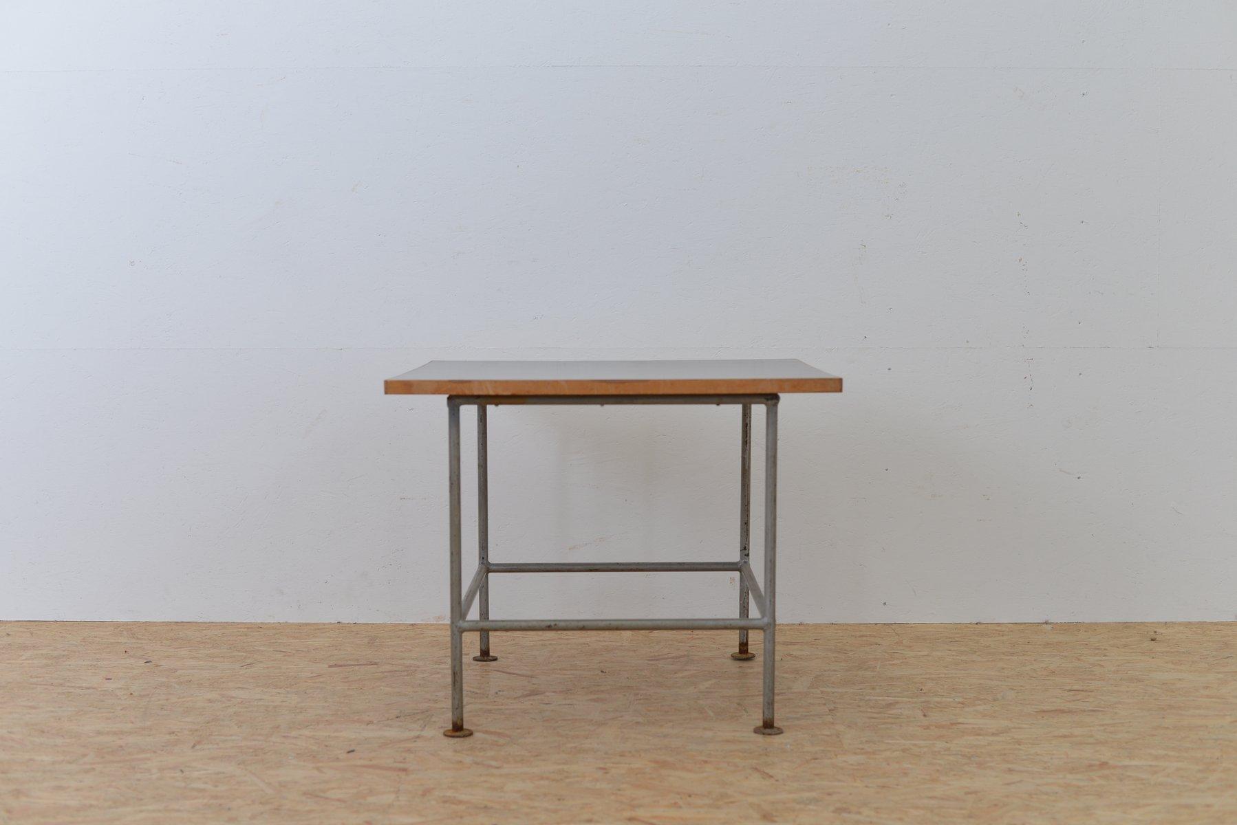 Superieur Vintage Metal Side Table With Black Top 7. $1,373.00. Price Per Piece